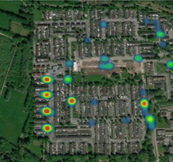 Heatmap reverse hotspots